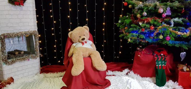 Le Père Noël dans notre école